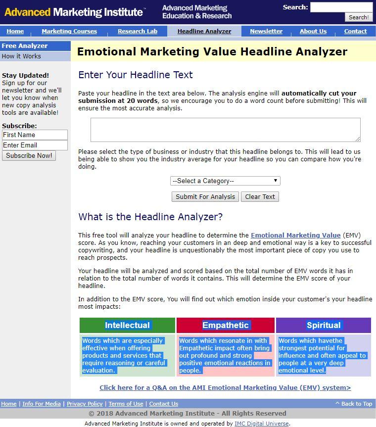 emotional-headline-analyser
