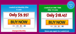 leads2list-pricing