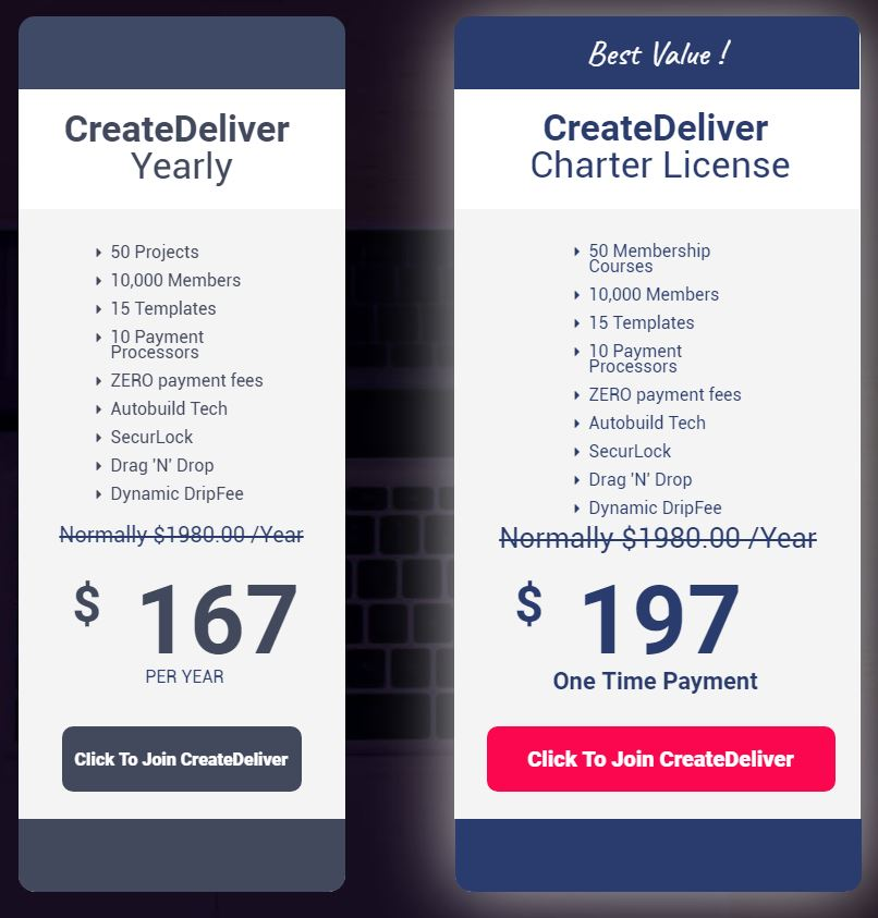 create-deliver-price