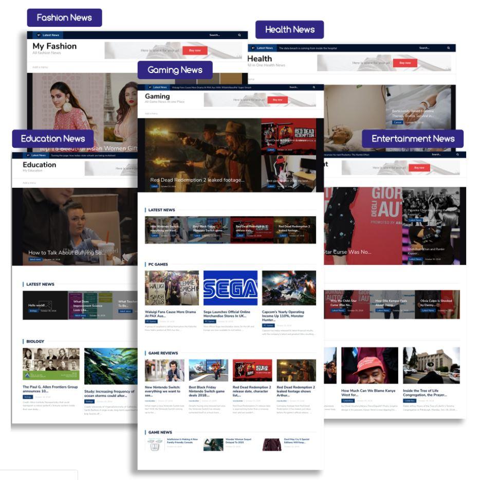 newsbuilder-sample-sites