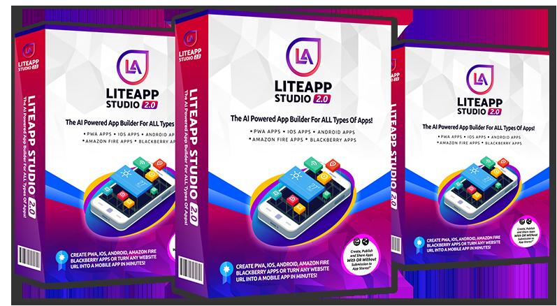Lite App Studio 2 @ $97