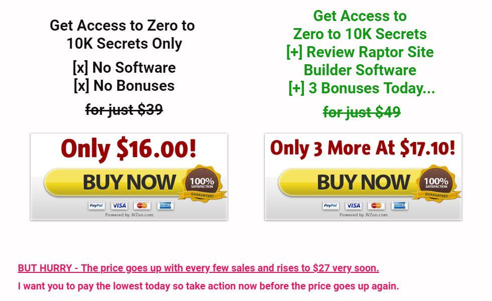 zero-10k-price