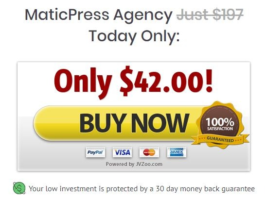 maticpress-price
