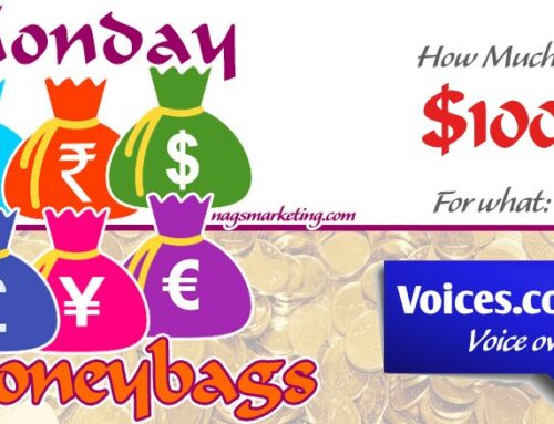 Make $100 for Voice Overs