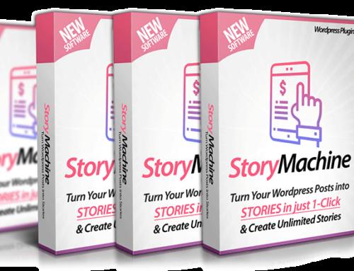 WP Story Machine @ $14.95