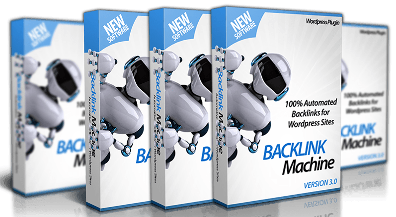Backlinks Machine 3 @ $14.95