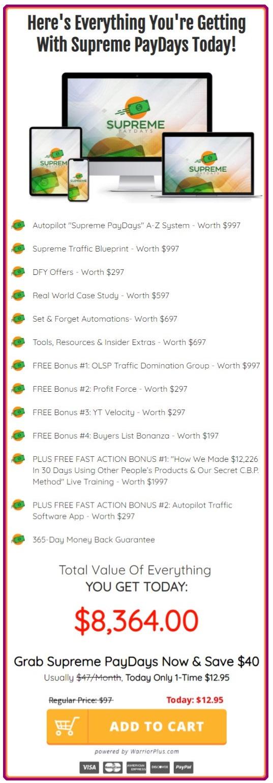 supreme-paydays-pricing