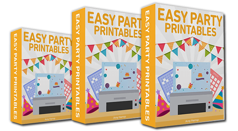 Easy Party Printables