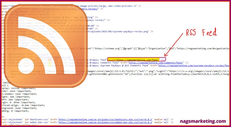 How to find the RSS Feed URL for any Website