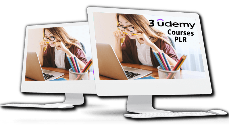 3 Udemy Courses PLR